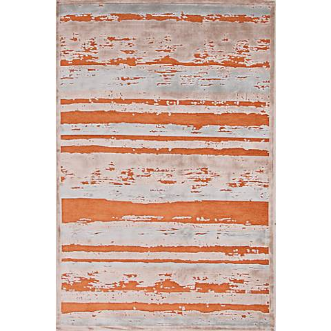 Jaipur Fables RUG121771 2'x3' Orange Modern Abstract Area Rug