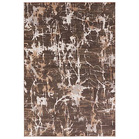 Jaipur Masonic RUG132851 2'x3' Chocolate Brown Abstract Area Rug
