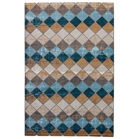 Jaipur Zane RUG133216 2'x3' Gray Mediterranean Tile Area Rug