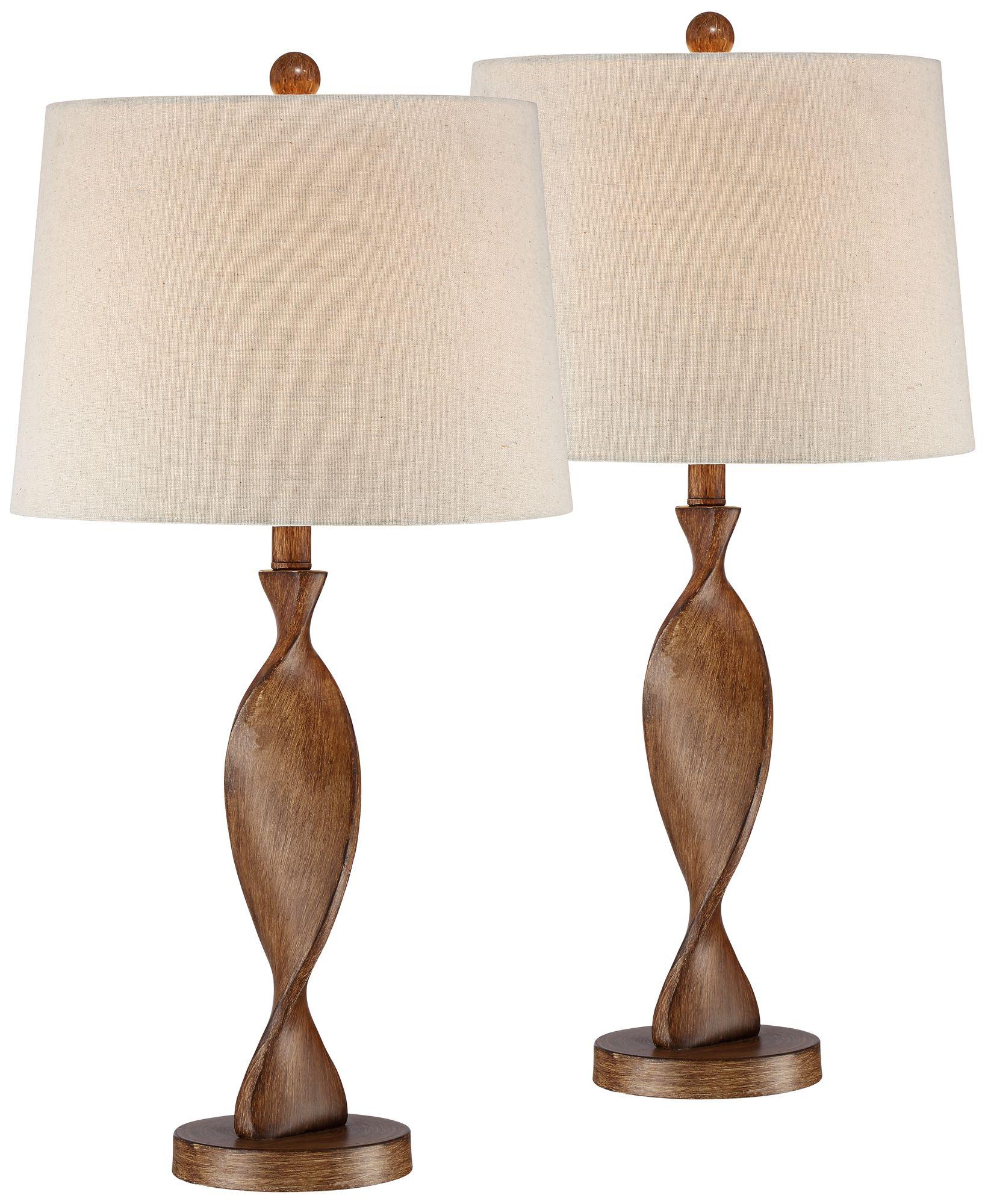 Charming Debra Modern Table Lamp Set Of 2