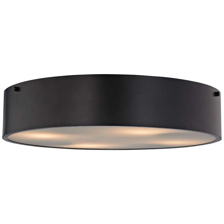 """Clayton 21"""" Wide Oil Rubbed Bronze 4-Light Ceiling"""