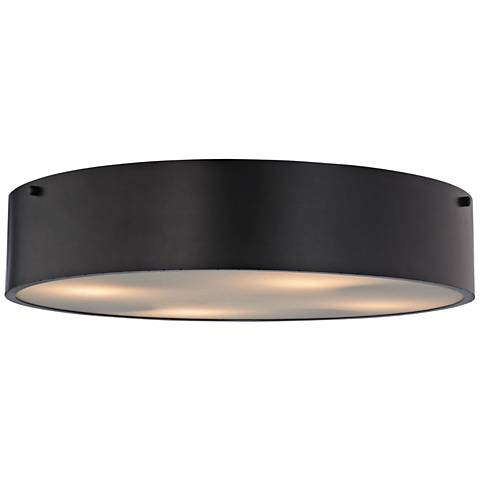 "Clayton 21"" Wide Oil Rubbed Bronze 4-Light Ceiling Light"