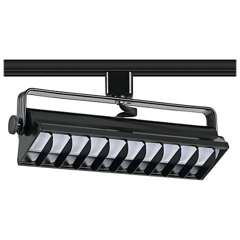 Black 20 Watt LED Wall Washer Track Head for Juno