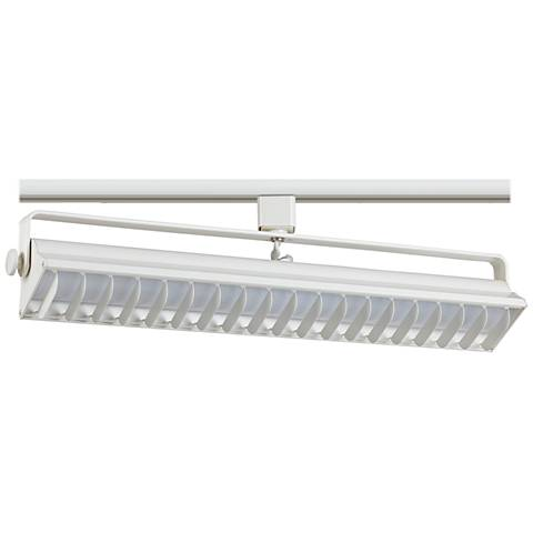 Riley White 40 Watt LED Wall Washer Track Head for Juno