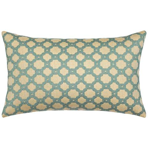 """Octagon Spa 20""""x12"""" Lumbar Indoor-Outdoor Pillow"""