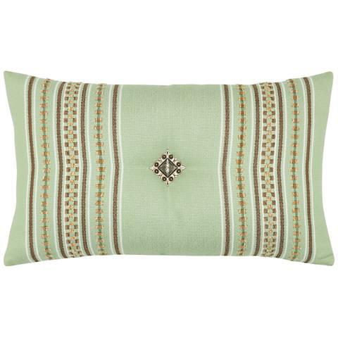 """Function Stripe 20""""x12"""" Lumbar Indoor-Outdoor Pillow"""