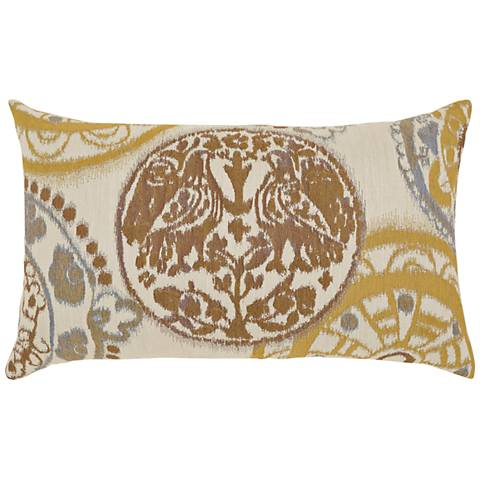 "Raya Waters 20""x12"" Lumbar Indoor-Outdoor Pillow"