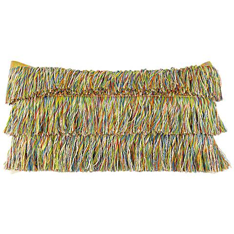 """Elaine Smith Hula 20""""x12"""" Lumbar Indoor-Outdoor Pillow"""