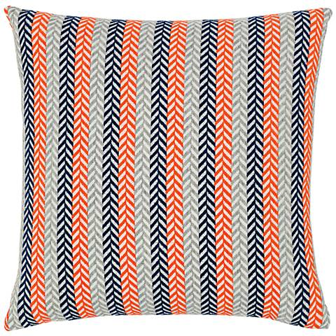 "Plush Plume Marine 20"" Square Indoor-Outdoor Pillow"