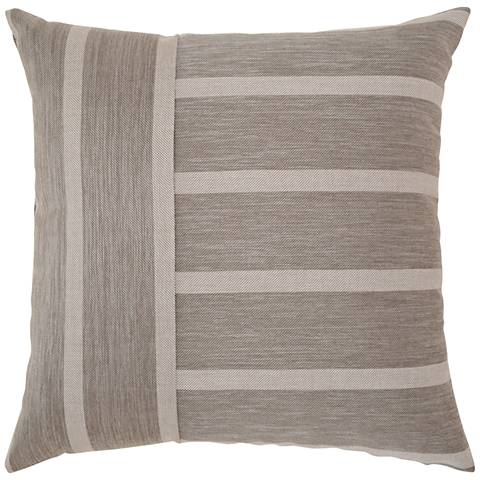 "Elaine Smith Sparkle Stripe 20"" Square Indoor-Outdoor Pillow"