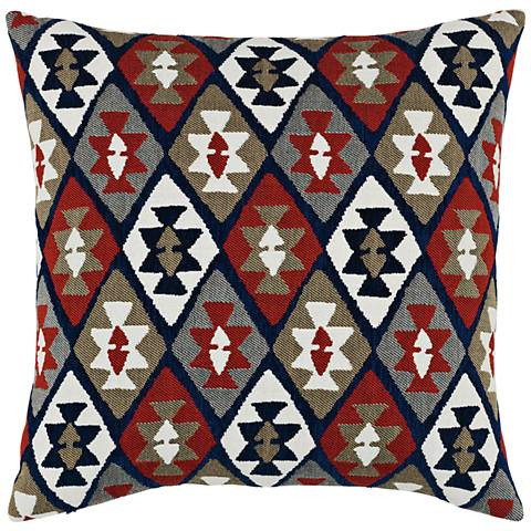 """Canyon Diamond Lodge 20"""" Square Indoor-Outdoor Pillow"""