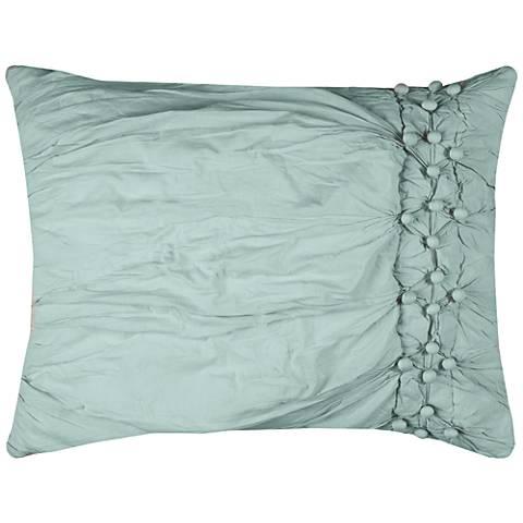 Chelsea Cane Blue Standard Pillow Sham