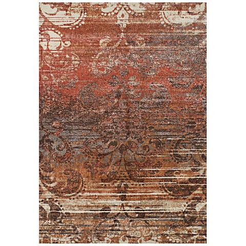 Dalyn Lavita Woven LV521 Paprika Area Rug