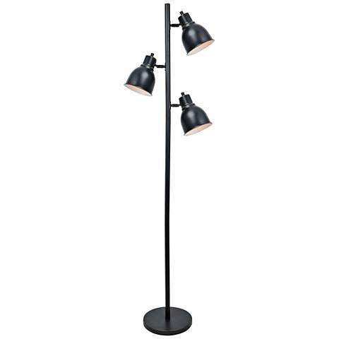 Lite Source Galvin Dark Bronze 3-Light Floor Lamp