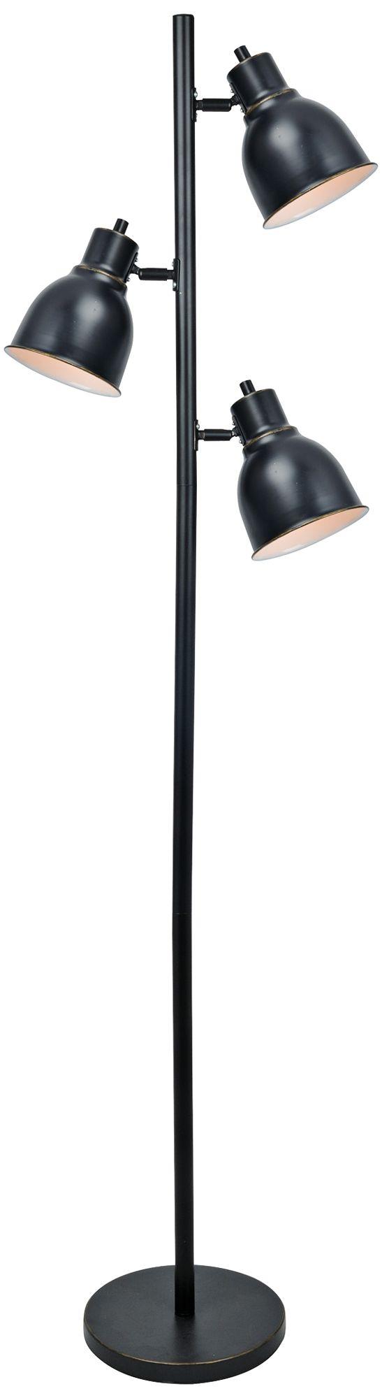 Lite Source Galvin Dark Bronze 3-Light Floor L&  sc 1 st  L&s Plus & Lite Source Galvin Dark Bronze 3-Light Floor Lamp - #9Y060 | Lamps Plus