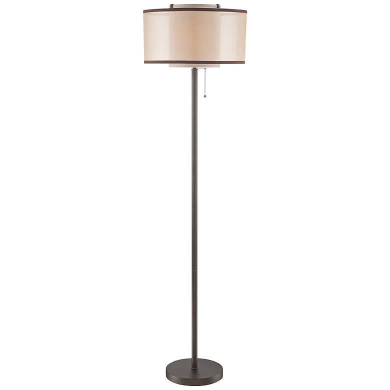 Lite Source Fabrizio Dark Bronze Metal Floor Lamp