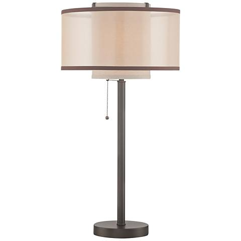 Lite Source Fabrizio Dark Bronze Metal Table Lamp