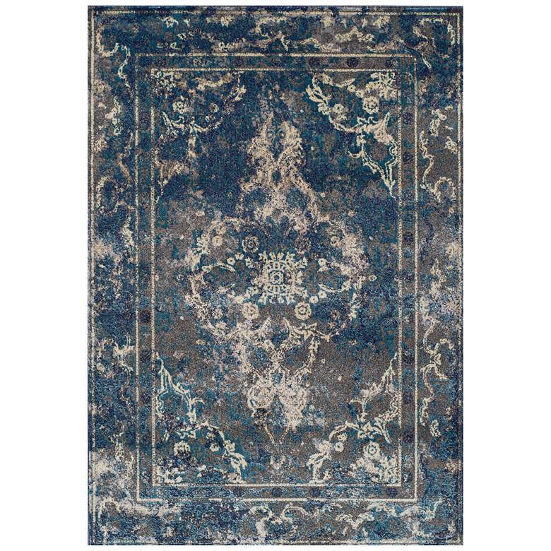 """Dalyn Lavita Woven LV80 5'3"""" x 7'7"""" Pewter Area Rug"""