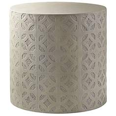 Concrete Outdoor Tables Lamps Plus - Outdoor cement side table