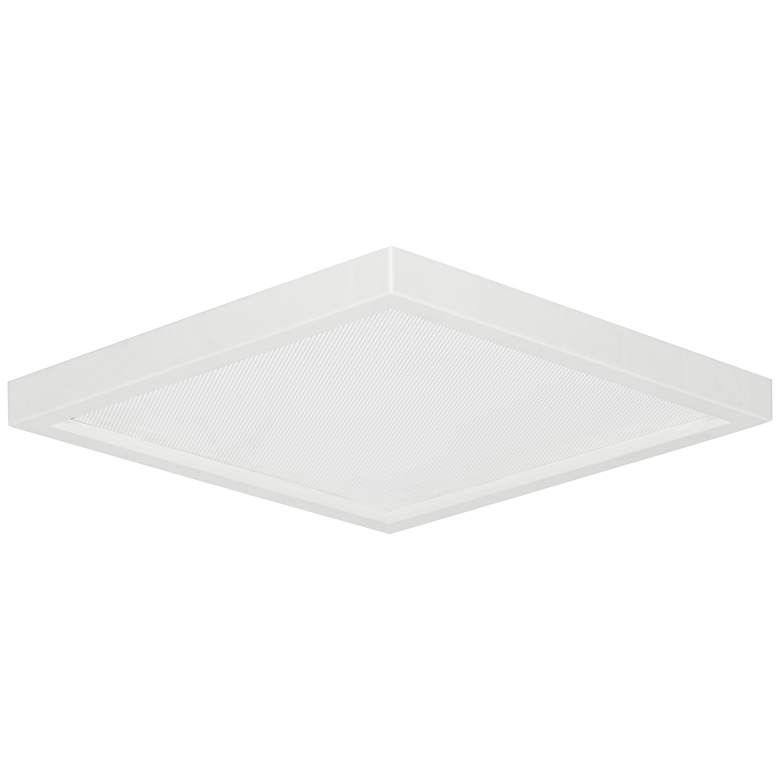 "Slim Square 7""W White 15W LED Surface-Mount Light"