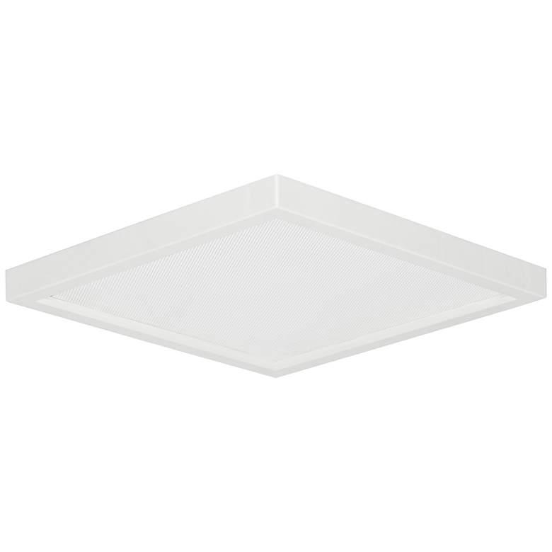 "Slim Square 7""W White 15W LED Surface-Mount Light"