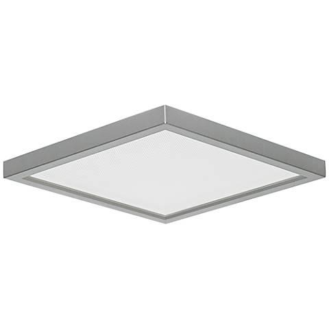Slim square 7w nickel 15w led surface mount light 9y212 lamps plus slim square 7w nickel 15w led surface mount light aloadofball Gallery