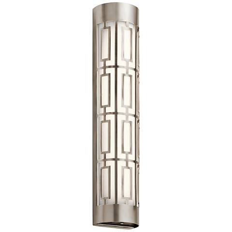 "Kichler Empire 24""W LED Classic Pewter Linear Bath Light"