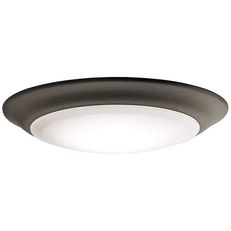 """Kichler 7 1/2"""" Wide Olde Bronze 3000K LED Ceiling Light"""