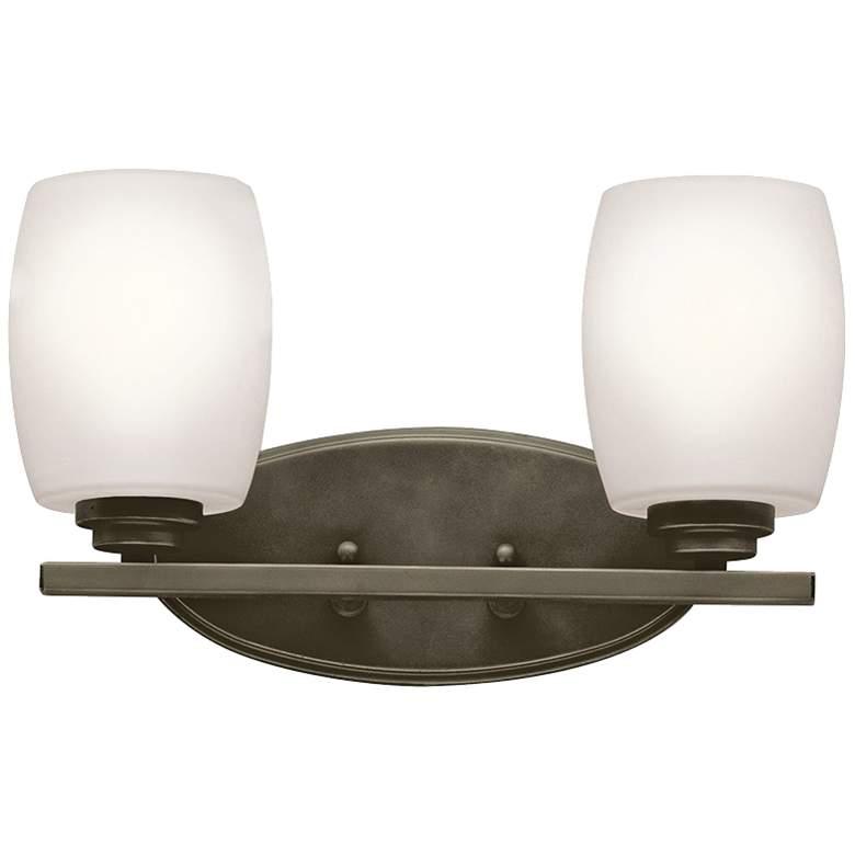 "Kichler Eileen 2-Light 14 1/4""W Olde Bronze Bath Light"
