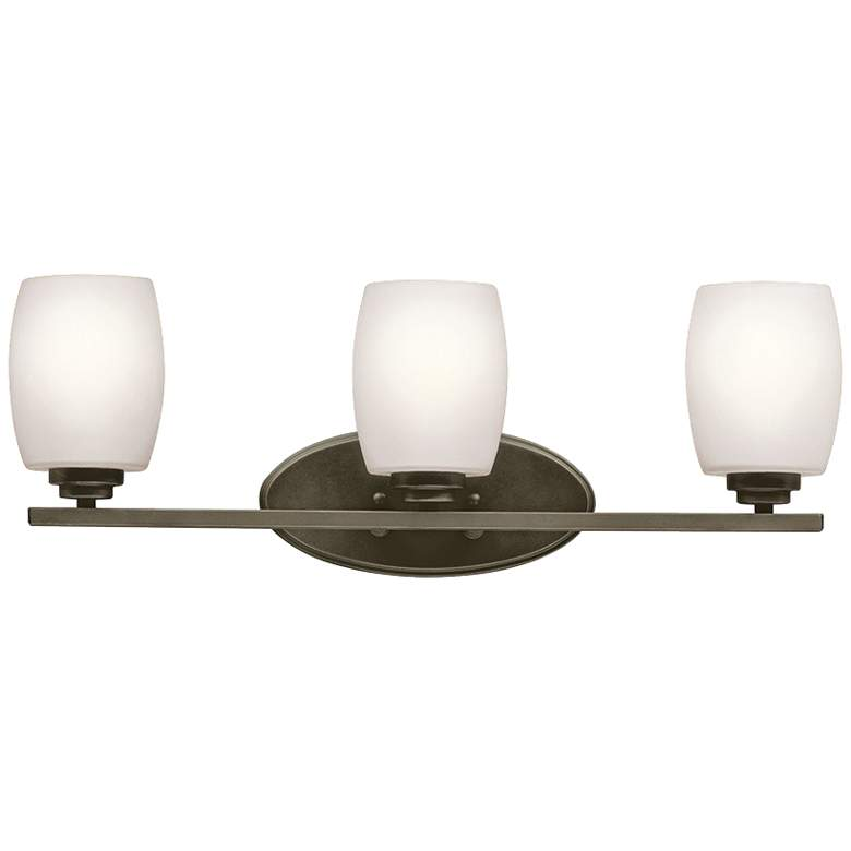 "Kichler Eileen 3-Light 24"" Wide Olde Bronze Bath"