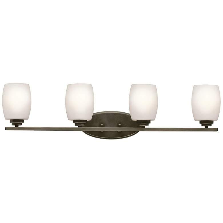"Kichler Eileen 4-Light 33 3/4""W Olde Bronze Bath Light"