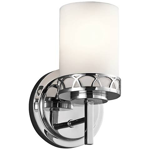 """Kichler Marlowe 9 1/4""""H Transitional Chrome Wall Sconce"""