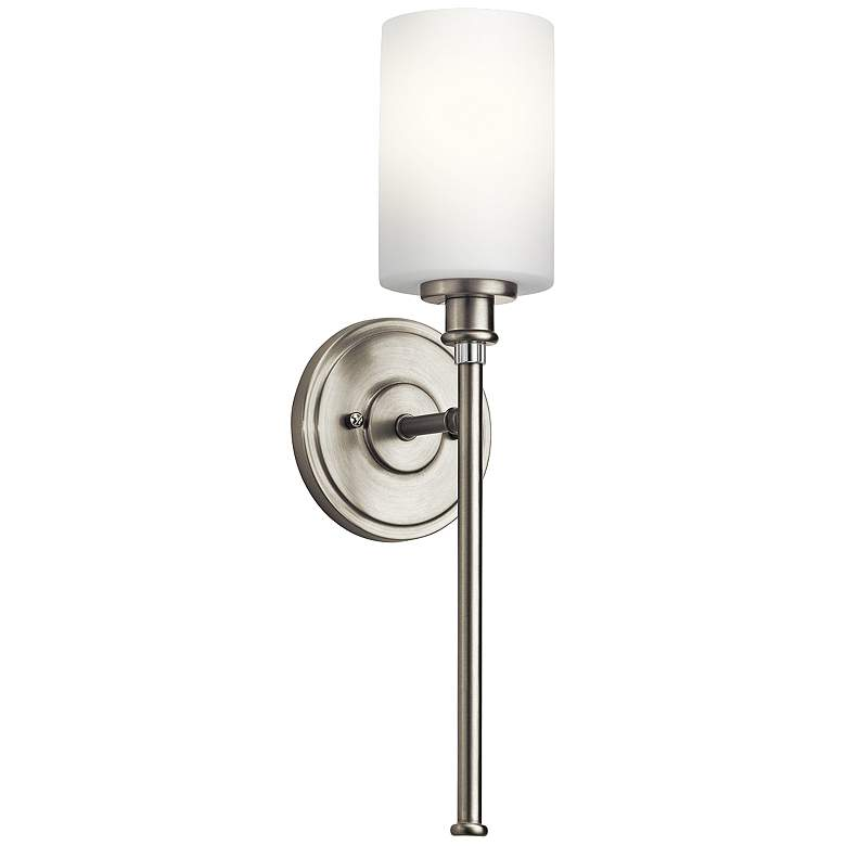"""Kichler Joelson 18 1/4"""" High Brushed Nickel Wall Sconce"""