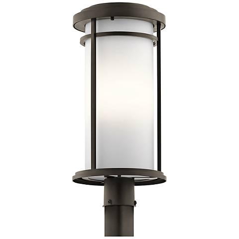 "Kichler Toman 22"" High Olde Bronze Outdoor Post Light"