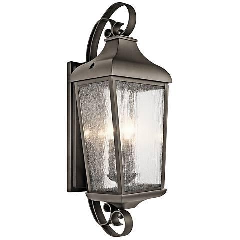 "Kichler Forestdale 30 3/4""H Old Bronze Outdoor Wall Light"