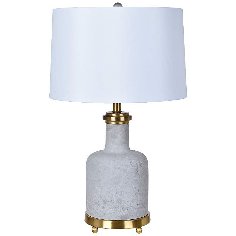 Crestview Collection Stone Table Lamp