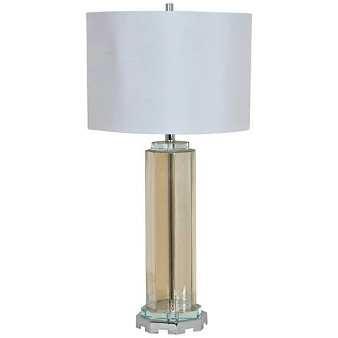 Crestview Collection Etruscan Antique Glass Table Lamp