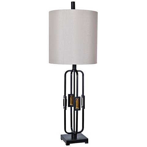 Crestview Collection Robinson Oil Bronze Table Lamp