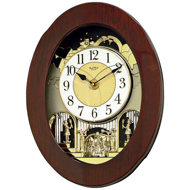 "Grand Nostalgia 20 3/4"" High Musical Chime Wall Clock"