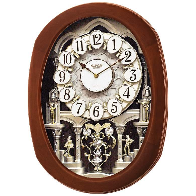 "Grande Encore II 22"" High Musical Motion Wall Clock"