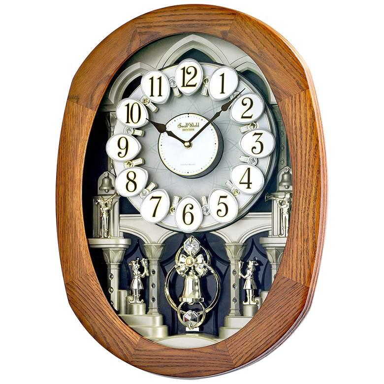 "Joyful Encore 22"" High Musical Motion Wall Clock"