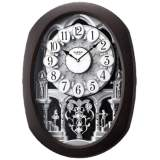 "Encore Espresso 22"" High Motion Wall Clock"