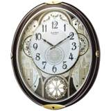 Gala Wood 18 1 4 Quot High Motion Wall Clock 9y565 Lamps Plus