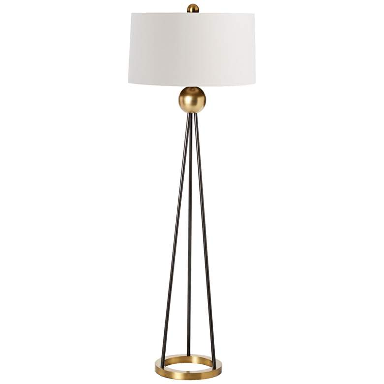 Arteriors Home Hadley Contemporary Iron Tripod Floor Lamp