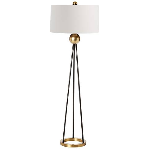 Arteriors Home Hadley Contemporary Iron Tripod Floor Lamp