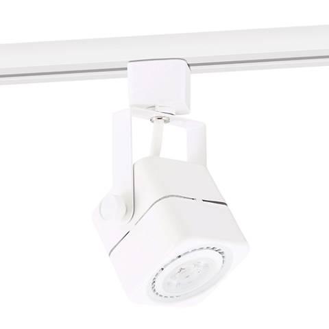White Square 7 Watt LED Bullet Head for Halo Single Circuit