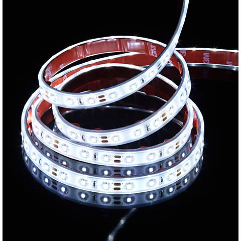 6' White Coated Flex Non-Dimmable LED Tape Light Kit