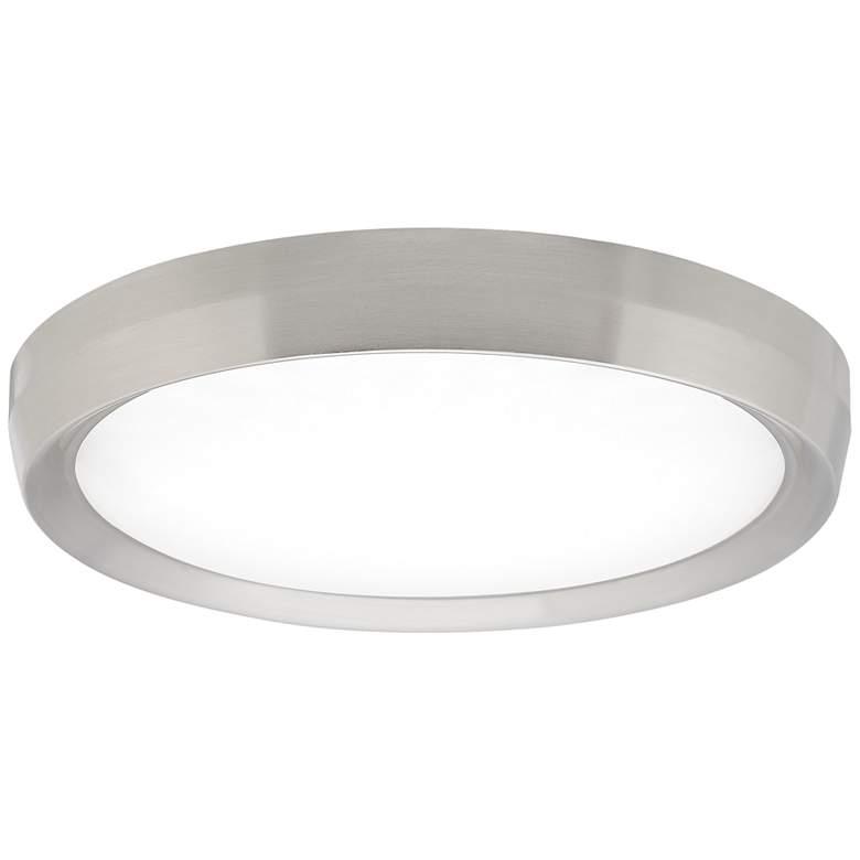 "Tech Lighting Bespin 18"" Wide Satin Nickel LED Ceiling Light"