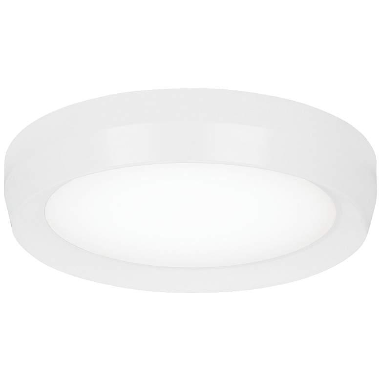 """Tech Lighting Bespin 13"""" Wide White LED Ceiling Light"""