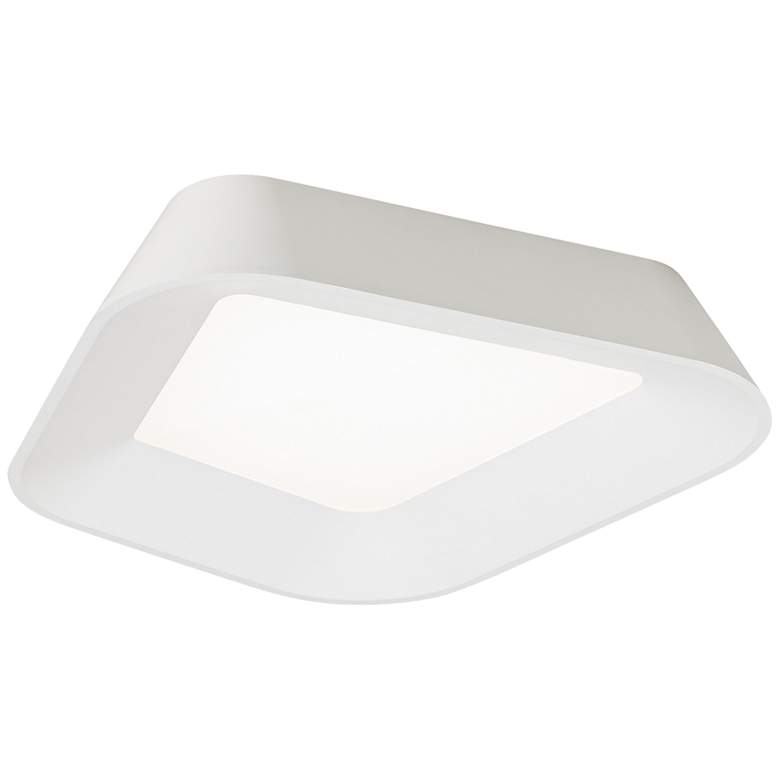 "Tech Lighting Rhonan 14""W White LED Ceiling Light"